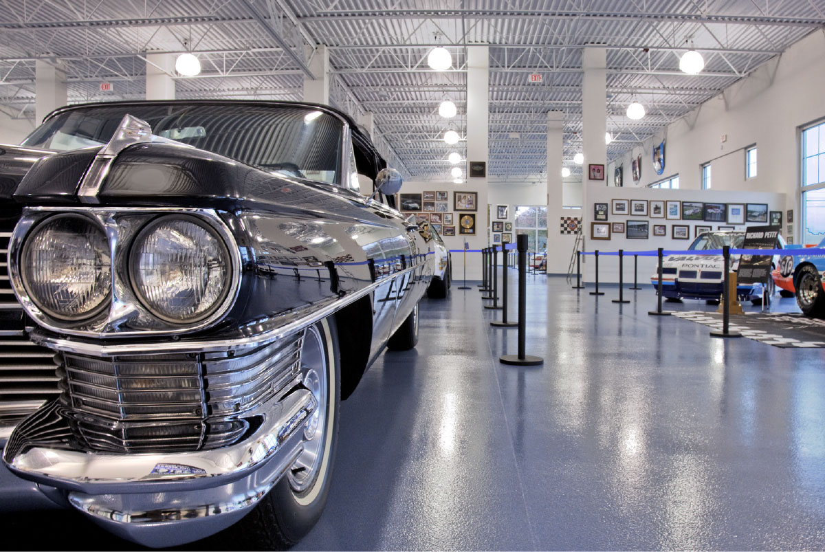 Curb Motorsports Racing Museum for Music and Motorsports