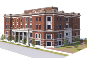 CPCC Classroom Building at Charlottetowne and Fifth